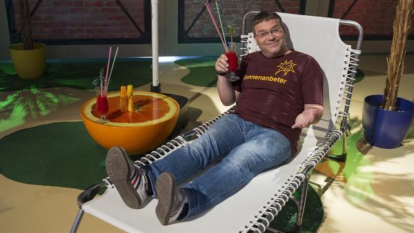 Moderator Elton | Rechte: ZDF/Ralf Wilschewski