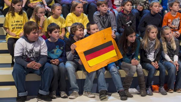 Die Fans des deutschen Teams   Rechte: ZDF/Ralf Wilschewski