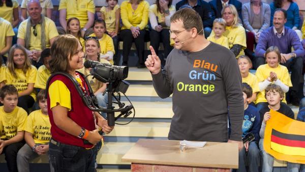 Kamerakind Timo aus Österreich   Rechte: ZDF/Ralf Wilschewski