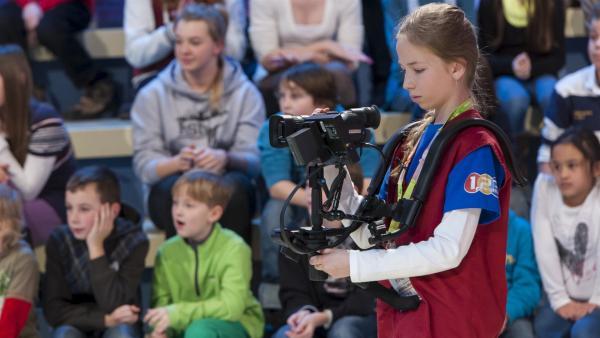 Kamerakind Juliana aus Eschweiler | Rechte: ZDF/Ralf Wilschewski