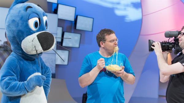 Piet Flosse und Elton. | Rechte: ZDF/Ralf Wilschewski