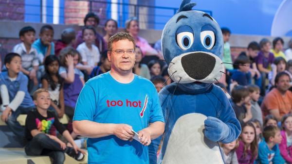 Elton und Piet Flosse | Rechte: ZDF/Ralf Wilschewski
