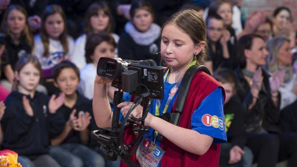 Kamerakind Anna-Lena aus Straelen/Deutschland | Rechte: ZDF/Ralf Wilschewski