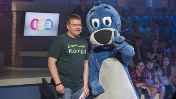 Was ist eine Lulo? Elton ist von Piets Antwort nicht überzeugt. | Rechte: ZDF und Ralf Wilschewski