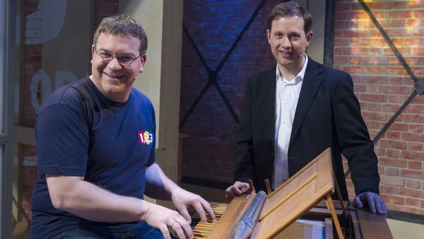 Elton und der der Organist Peter Kofler | Rechte: ZDF und Ralf Wilschewski