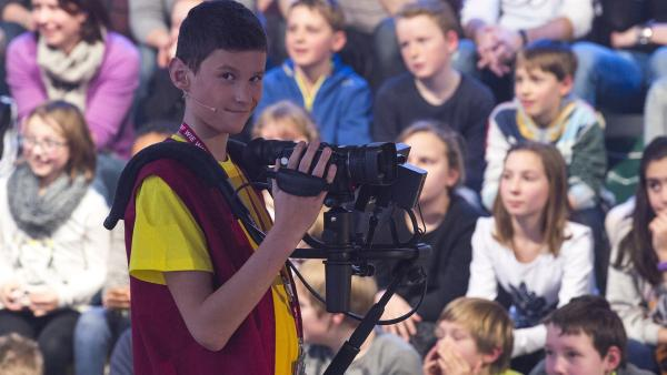 Kamerakind Armin aus Graz/Österreich.   Rechte: ZDF und Ralf Wilschewski