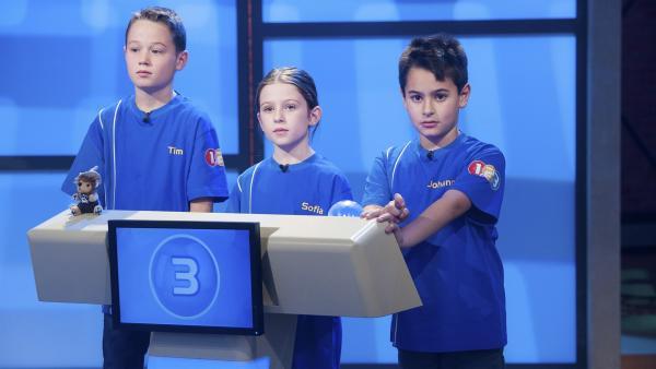 Die Kandidaten aus Schwäbisch Gmünd/Deutschland wollen heute den Sieg zugunsten der Klassenkasse holen. | Rechte: ZDF/Dorothee Falke