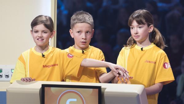 Das Rateteam aus Kappel am Krappfeld/Österreich möchte heute unbedingt gewinnen.   Rechte: ZDF/Ralf Wilschewski