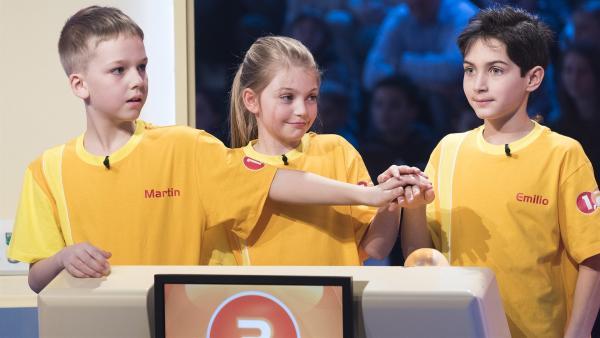 Die Kandidaten aus Krieglach/Österreich streben den Tagessieg der heutigen Ausgabe an. | Rechte: ZDF/Ralf Wilschewski