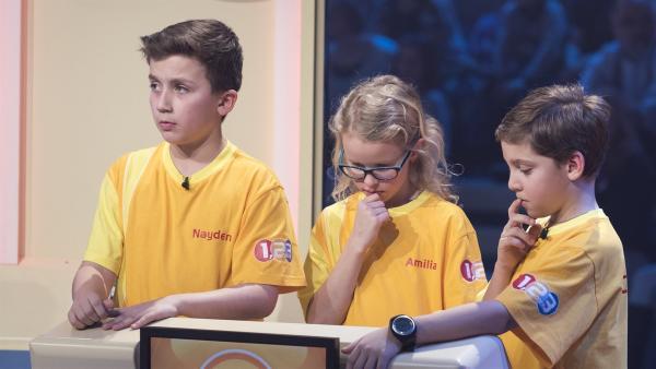Die Kandidaten aus Maria Enzersdorf/Österreich wollen noch so einige Punkte sammeln. | Rechte: ZDF / Ralf Wilschewski