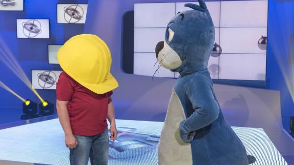 Da ist wohl etwas schief gelaufen: Auch Piet Flosse darf in der 1, 2 oder 3-Jubiläumswoche nicht fehlen!   Rechte: ZDF/Ralf Wilschewski