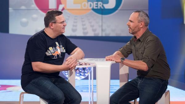 Derk Ehlert erzählt von seinen Erlebnissen als Wildtier-Referent in Berlin.       | Rechte: ZDF/Ralf Wilschewski
