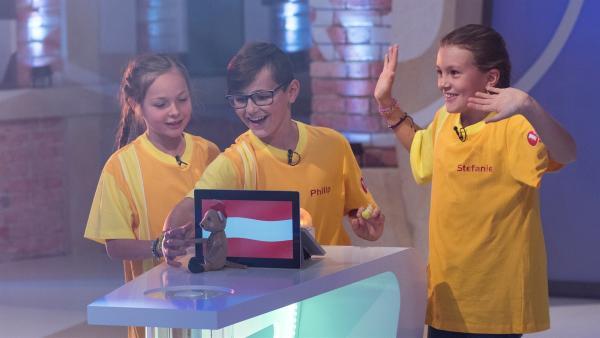 Die Kandidaten aus Tarrenz/Österreich wollen heute viele Punkte erspielen. | Rechte: ZDF/Ralf Wilschewski