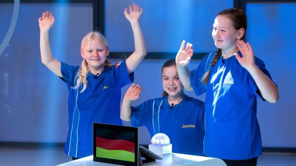 Die Kandidaten aus Heidelberg/Deutschland wollen sich heute  Punkte erspielen. | Rechte: ZDF/Ralf Wilschewski