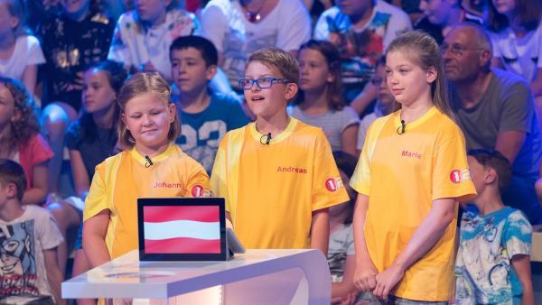 Die Kandidaten aus Gosau/Österreich wollen heute den Tagessieg erspielen. | Rechte: ZDF/Ralf Wilschewski