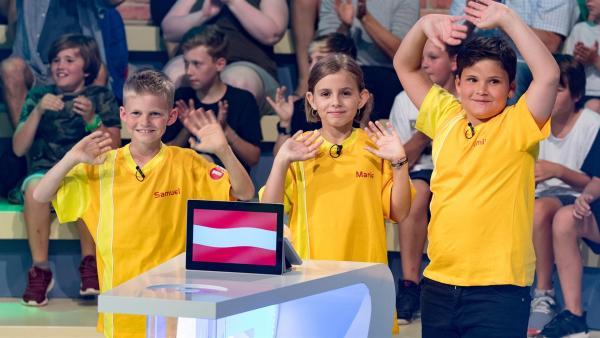 Die Kandidaten aus Lochau/Österreich wollen sich heute jede Menge Punkte erspielen.         Rechte: ZDF/Ralf Wilschewski