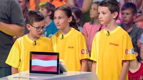 Die Kandidaten aus Ruprechtshofen/Österreich wollen heute den Tagessieg eintüten.   Rechte: ZDF/Ralf Wilschewski