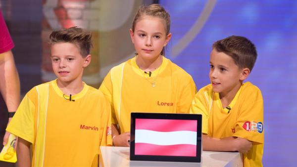 Die Kandidaten aus Imst/Österreich wollen heute den Tagessieg einheimsen. | Rechte: ZDF/Ralf Wilschewski