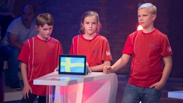 Die Kandidaten aus Stockholm/Schweden möchten gerne den Tagessieg mit nach Hause nehmen. | Rechte: ZDF/Ralf Wilschewski