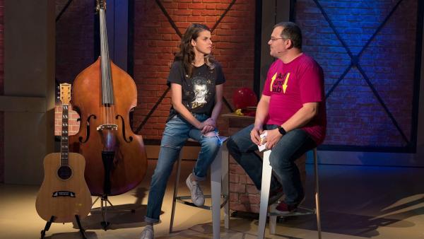 Stephanie Kruse ist Sängerin, Vocal Coach und Logopädin und weiß eine Menge Interessantes über die menschliche Stimme und die Stimmwerkzeuge zu erzählen. | Rechte: ZDF/Ralf Wilschewski