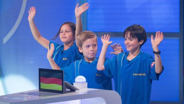 Die Kandidaten aus Ulm/Deutschland freuen sich auf die 1, 2 oder 3-Sendung. | Rechte: ZDF/Ralf Wilschewski