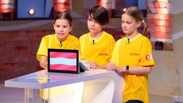 Die Kandidaten aus Lichtenberg bei Linz/Österreich wollen heute viele Punkte erspielen.  | Rechte: ZDF/Ralf Wilschewski