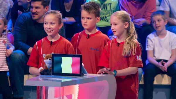 Die Kandidaten aus Hauset/Belgien wollen heute viele Punkte erspielen.    Rechte: ZDF/Ralf Wilschewski