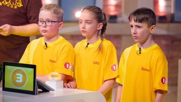 Die Kandidaten aus Wiener Neustadt/Österreich spielen mit Grips und Wissen um den Tagessieg.  | Rechte: ZDF/Ralf Wilschewski