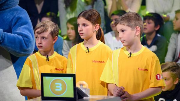Die Kandidaten aus Hall in Tirol/Österreich wollen heute viele Punkte erspielen.  | Rechte: ZDF/Ralf Wilschewski