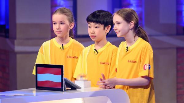 Die Kandidaten aus Wien/Österreich wollen heute viele Punkte erspielen. | Rechte: ZDF/Ralf Wilschewski