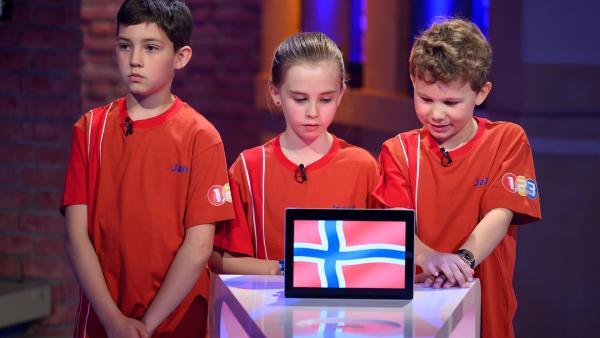 Die Kandidaten aus Oslo/Norwegen möchten gerne den Tagessieg in den Norden Europas mitnehmen. | Rechte: ZDF/Ralf Wilschewski