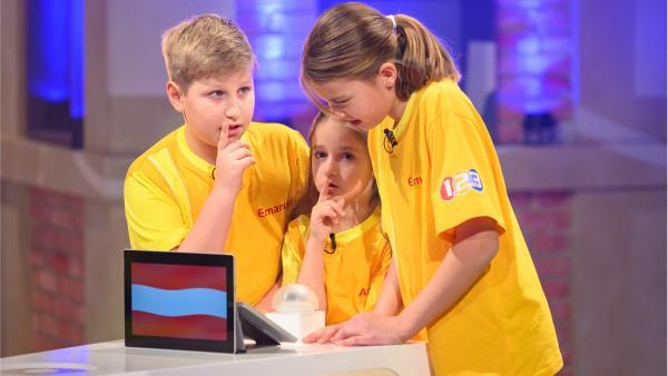 Die Kandidaten aus Maria Enzersdorf in Österreich wollen sich jede Menge Punkte erspielen. | Rechte: ZDF/Ralf Wilschewski