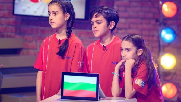 Die Kandidaten aus Sofia in Bulgarien wollen viele Punkte erspielen. | Rechte: ZDF/Ralf Wilschewski