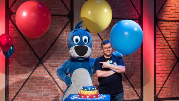 Piet und Elton freuen sich auf die Show! | Rechte: ZDF/Ralf Wilschewski