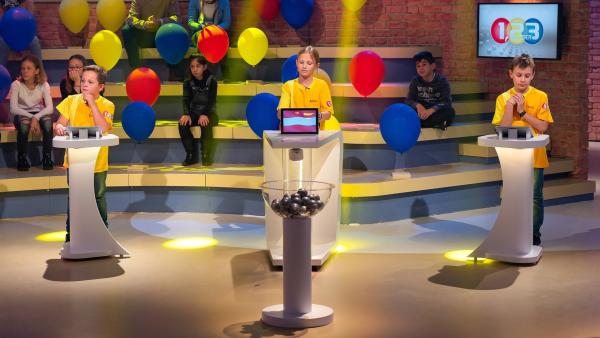 Die Kandidaten aus Gmunden/Österreich wollen viele Punkte erspielen. | Rechte: ZDF/Ralf Wilschewski