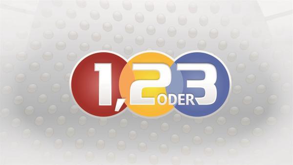 "Logo ""1,2 oder 3"" | Rechte: ZDF/Corporate Design"