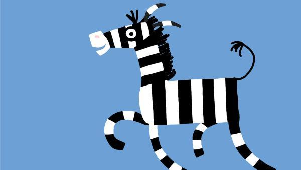 Zebra | Rechte: KiKA