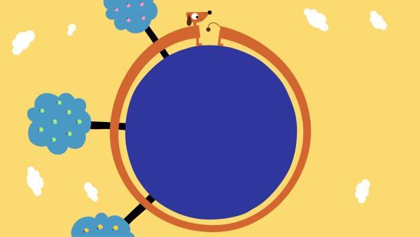 Der Dackel hat schon die ganze Erde umrundet. | Rechte: KiKA/SWR/Studio FILM BILDER/Julia Ocker