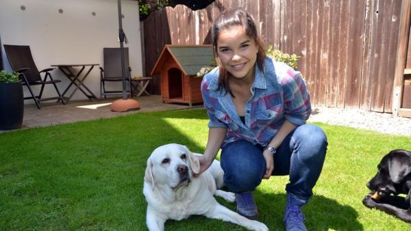 Labrador / In der Hundeschule kann Anna mit den jungen Labradoren auch richtig herumtoben. | Bild: BR/Text und Bild Medienproduktion | Rechte: BR/Text und Bild Medienproduktion
