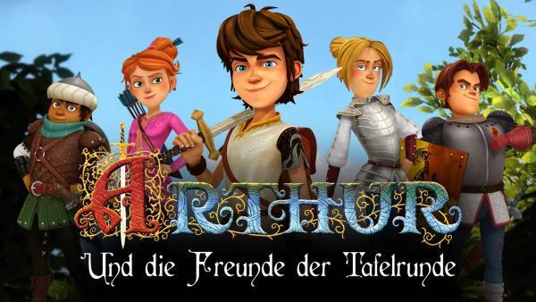 Arthur und die Freunde der Tafelrunde, Homepage SWR Kindernetz | Rechte: SWR