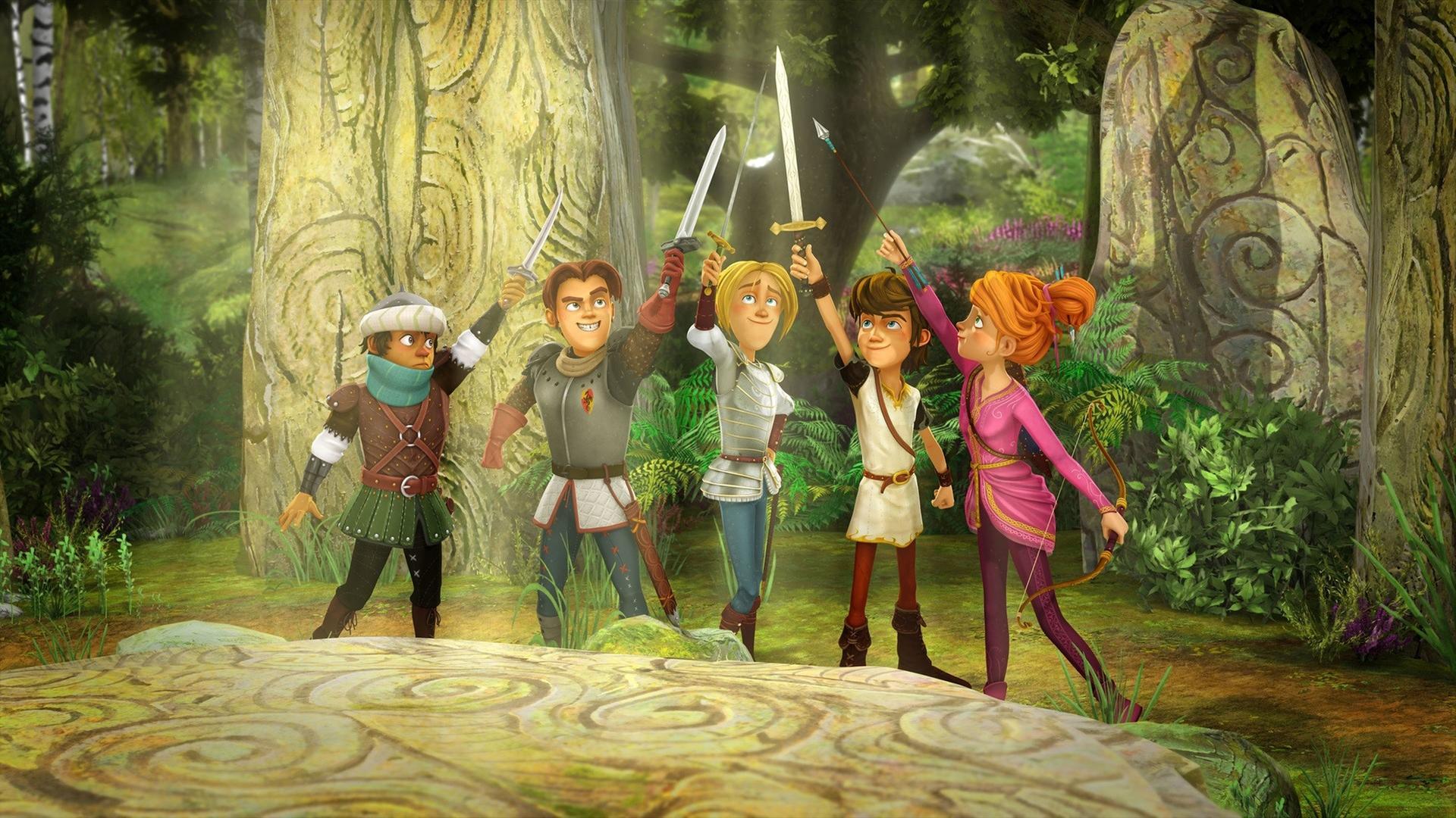 Arthur Und Die Freunde Der Tafelrunde Kika