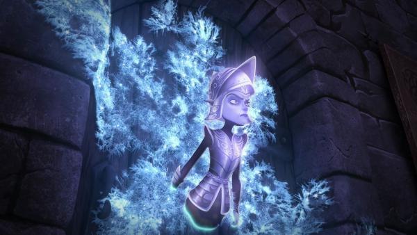 Schloss Camelot wird von einem Geist heimgesucht. | Rechte: SWR/Blue Spirit Productions/TéléTOON+/Canal+