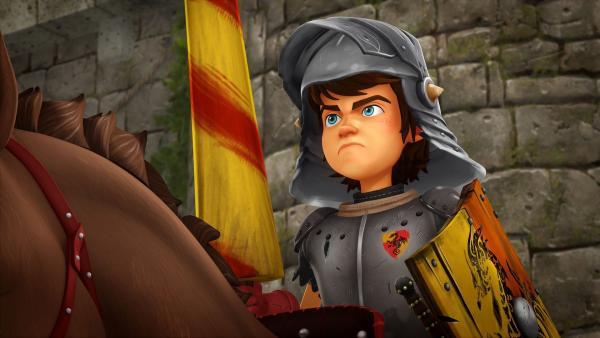 Arthur vertritt Camelot auf dem großen Turnier.   Rechte: SWR/Blue Spirit Productions/TéléTOON+/Canal+