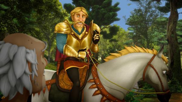 Prinz Drogon soll nach dem Willen von Guineveres Eltern ihr zukünftiger Ehemann sein. | Rechte: SWR/Blue Spirit Productions/TéléTOON+/Canal+
