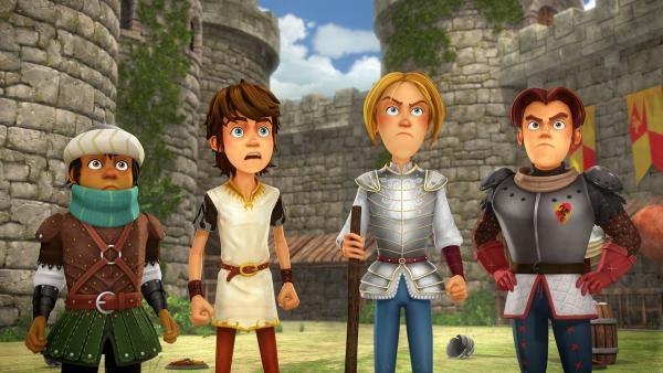 Arthur und seine Freunde sind entsetzt: Sie sollen für ihr gefundenes Pferd ein Lösegeld verlangen! | Rechte: SWR/Blue Spirit Productions/TéléTOON+/Canal+