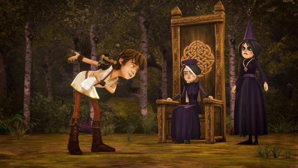 Die Dinge im Königreich sind komplett aus dem Ruder gelaufen. So sind jetzt die Tintagel-Schwestern auf dem Thron. Arthur und seine Freunde müssen versuchen, den Lauf der Dinge wieder zu ändern... | Rechte: SWR/Blue Spirit Productions/TéléTOON+/Canal+