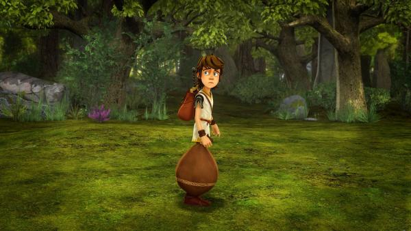 Arthur ist verbannt und muss Camelot für immer verlassen.      Rechte: SWR/Blue Spirit Productions/TéléTOON+/Canal+