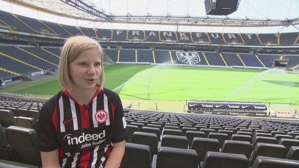SimW_Lisa_Eintracht_Bonusclip.mp4 | Rechte: KiKA