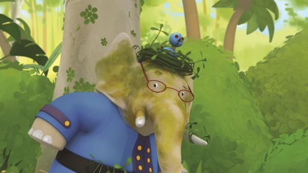 Der weise König beschließt, seinem Freund Cornelius eine Erholungspause von seinen Beschützern zu gönnen und schickt ihn auf Inspektion in den Dschungel. | Rechte: KiKA/Nelvana Limited/TeamTO/YTV Productions