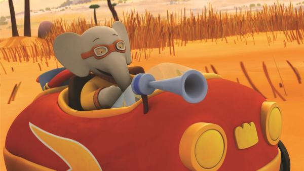 Während des Heißballonfestes löst Hoot mehrfach einen Fehlalarm aus, so dass Badou und sein Rettungsteam mehrmals vergeblich ausrücken müssen. | Rechte: KiKA/Nelvana Limited/TeamTO/YTV Productions